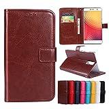 F&a® Flip Brieftasche Hülle für Doogee Y6 Max(Muster 8)