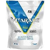 Fitness Authority Vitarade EL Paquete de 1 x 1000g - Almidón de Maíz - Vitargo - Potasio - Magnesio - Sodio - Carbohidratos - Bebida Energética con Electrolitos - Sin Azúcar (Blueberry)