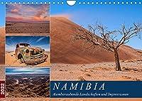 Namibia - Atemberaubende Landschaften und Impressionen (Wandkalender 2022 DIN A4 quer): Bilderreise durch die faszinierende Landschaft Namibias (Monatskalender, 14 Seiten )