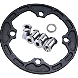 GANOPPER 30T 32T 34T Bike Chainring Bash Guard 104BCD Single Speed Narrow Wide Oval Chain Ring...
