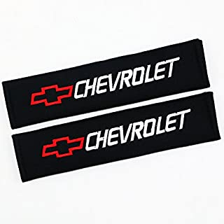 QZS Chevrolet Cars Seat Belt Shoulder Pads Strap Covers Cushion 1 Pair/Set