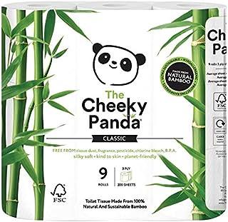 Cheeky Panda Toilet Tissue (Pack of 9)