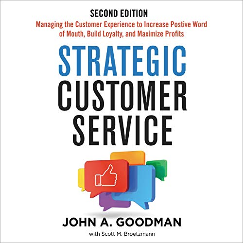 Strategic Customer Service audiobook cover art
