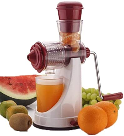 Hk Villa Deluxe Manual Fruit and Vegetable Juicer with Steel Handle and Waste Collector with Vaccum Locking System Hand Juicer, Fruit Juicer For All Fruits , Orange Juice Squeezer , Juice Maker Machine , Juicer Hand Machine , Orange Juicer