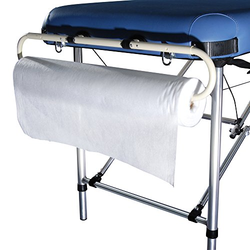 Master Massage Disposable Massage Table Beauty Physical Couch Tattoo Bed Cover Non-Woven Roll, 40 m