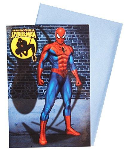 Spiderman Glückwunschkarte Grußkarte Geburtstag 79-0013