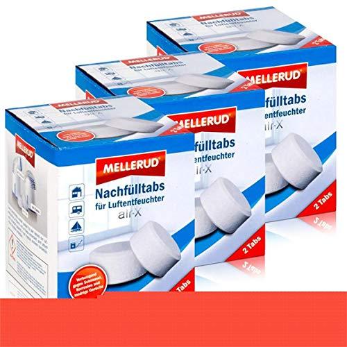 Mellerud Luftentfeuchter air-X Nachfülltabs 2 Tabs (3er Pack)