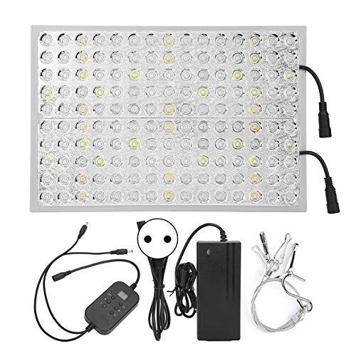 Socobeta Con pantalla de espectro completo para crecimiento de plantas, luz de crecimiento de plantas, lámpara para uso doméstico (Transl)