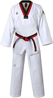 Mooto Korea Taekwondo MTX S2 Basic Uniform Poom Neck Dobok WTF approvaled MMA Martial Arts Karate Jujitsu Gym School Academy Match Poomse Training Uniforms