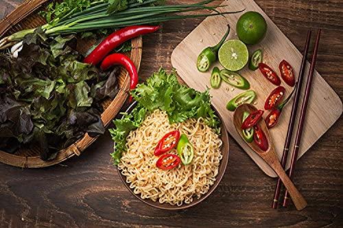 XIAOMA Gemüse Chili Nudel Kochen Küche Leinwand Malerei Druck Poster und Restaurant Gedruckte Kunst Bilder, Wohnzimmer Küche Dekoration Rahmenlos (20x35cm)
