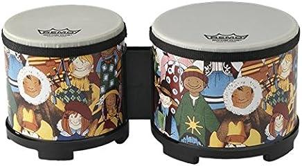 """Remo RH-5600-00 Rhythm Club Bongo Drum - Rhythm Kids, 5""""-6"""""""