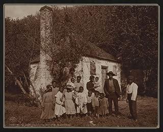 HistoricalFindings Photo: Family,African Americans,Former Slave Quarters,Hermitage Plantation,Savannah,GA
