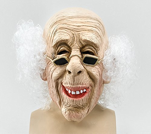 Bristol Novelty BM235 Alter Mann Maske