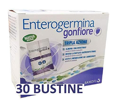 3X ENTEROGERMINA GONFIORE - Nuova bustina - 30 buste totale