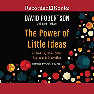 The Power of Little Ideas audiobook cover art