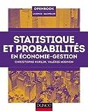 Statistique et probabilités en économie-gestion de Christophe Hurlin (20 mai 2015) Broché - 20/05/2015