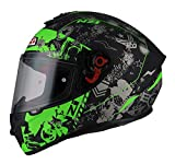 NZI - Casco Integral NZI Trendy (S 55-56 cm, KARZ Black&Green)
