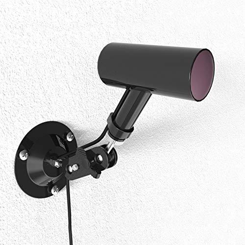 2 Packs Oculus Rift Sensor Security Wall Mount - Double Swivel Balls 720°Adjustable for 1/4 Inch Thread Bracket Compatible Arlo, Arlo Pro, Arlo Pro 2 3, Arlo Ultra CCD CCTV Rotation (Black)