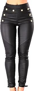 Women Slim Fit Shaping Rockabilly Steampunk Leggings Pants