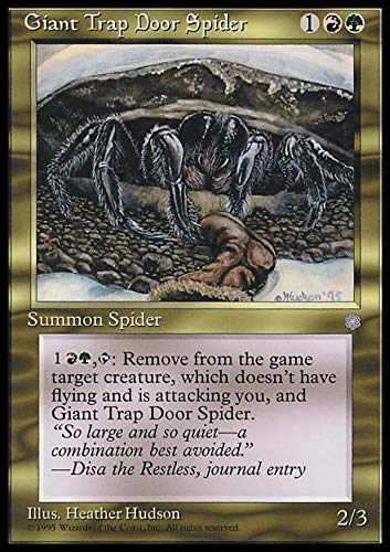 Magic The Gathering - Giant Trap Door Spider - Ice Age