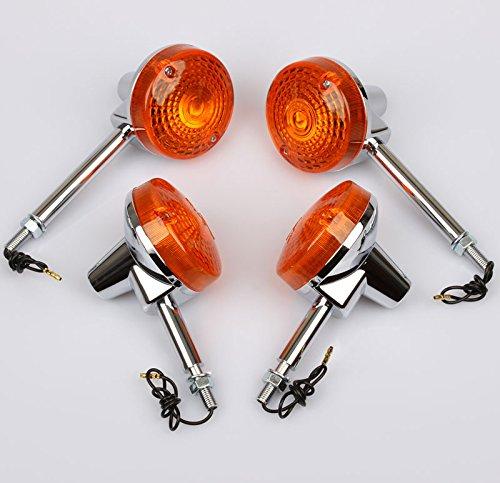 Blinker-Set passend für Suzuki GT 50 80 125 200 GN 250 400 GS 550 35601-44031 35603-44031