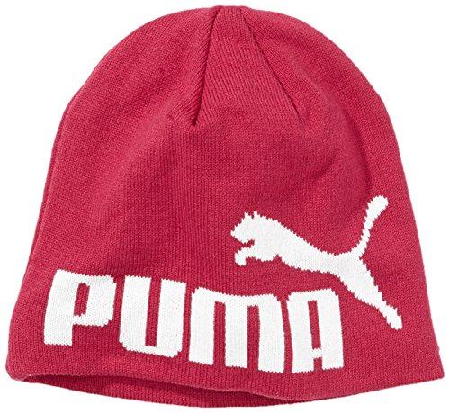 PUMA No1 Logo Beanie Bonnet Unisexe Taille Unique Rosa/Negro/Gris