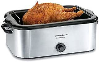 Hamilton Beach 32229 22-Quart Roaster Oven, Stainless Steel (Discontinued) (Renewed)