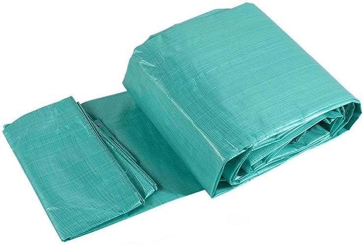 Sgfccyl Bache Pas Cher épais bache imperméable à l'eau de Prougeection Solaire bache de Prougeection Camion Ombre extérieure Pluie en Plastique Poncho Canopy Tissu Huile (Taille   2  4m)