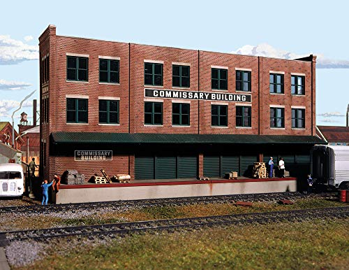 Walthers Cornerstone Series Kit HO Scale Commissary/Freight Transfer