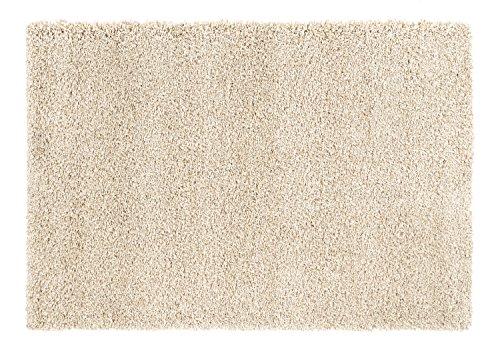 PANORAMA SHAGGY Hochflor Langflor Teppich in beige-mix, Größe: 80x150 cm