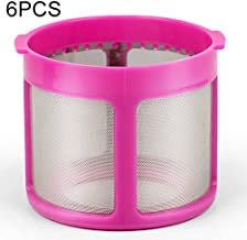 Household Articles 6 PCS Filter Mesh Cover Vacuum Cleaner Mite Dust Removal Accessories for Puppy D-602A/D-607/D-616/D-609...