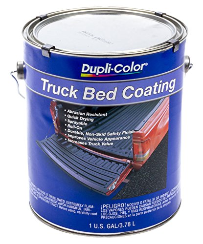 Dupli-Color - TRG252 Truck Bed Coating Black 128 Fl. Oz.