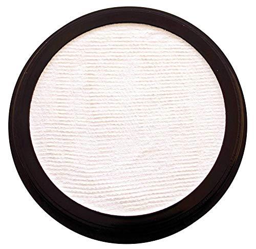 Eulenspiegel 181003 - Profi-Aqua Schminke in der Farbe weiß, 20 ml