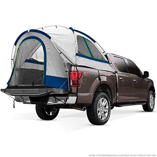 North East Harbor Pickup Truck Bed Camping Tent, 2-Person Sleeping Capacity, Includes Rainfly and Storage Bag - Fits...