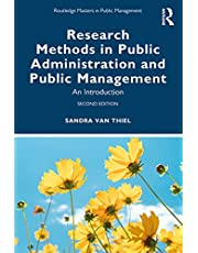 Research Methods in Public Administration and Public Management: An Introduction (Routledge Masters in Public Management) (English Edition)