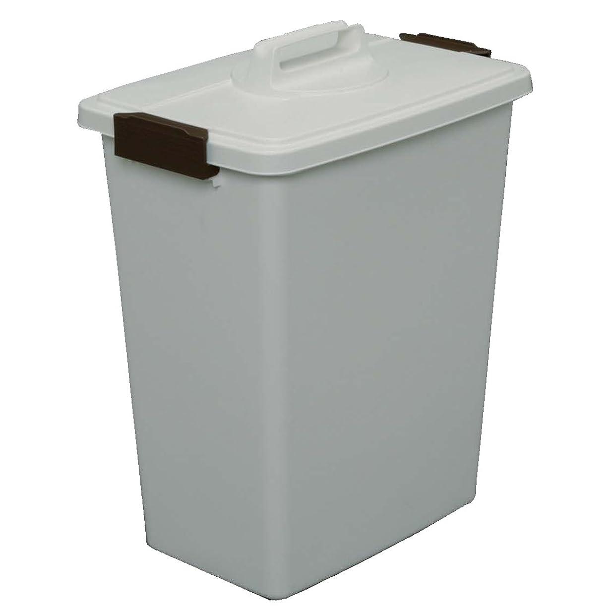 コンプライアンス精査代表してアイリスオーヤマ ゴミ箱 角型 ホワイト 45L 幅45.2×奥行31.1×高さ57.8cm MK-45