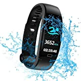 WitMoving Fitness Trackers IP68 Impermeabile Fitness Watch Slim Activity Tracker con Calorie e...