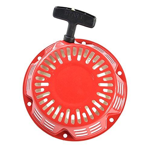 Starterkit Seilzugstarter für Rasenmäher und Gartenfräsen 168f/170f Rasenmäher Generator Benzin Motor Teile 2-3.5KW Benzin Generator Hand Puller Starter Rebounde (passt auch für weitere Hersteller)