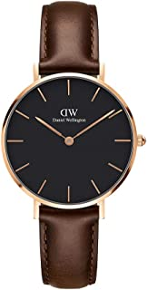 Daniel Wellington Petite Bristol Rose Gold Watch, 32mm, Leather, for Men and Women