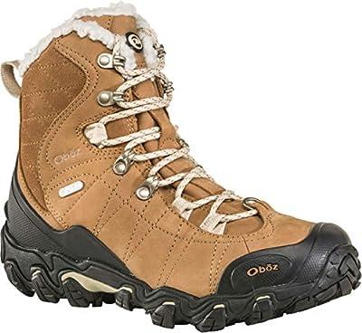 "Oboz Bridger 7"" Insulated B-Dry Hiking Boot - Women's Chipmunk 9"