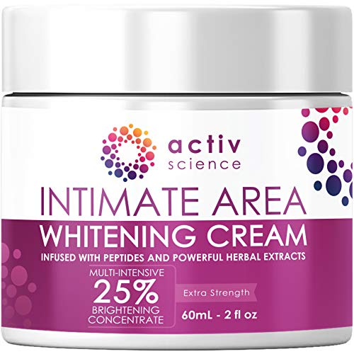 ACTIVSCIENCE Whitening Cream for Face, Sensitive & Intimate Areas - Skin Lightener Whitening for...