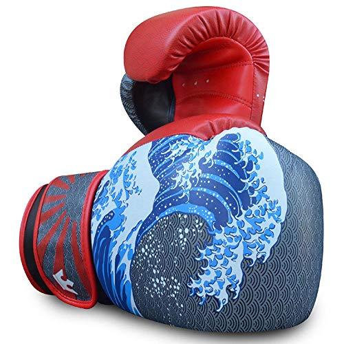 Guantes de Boxeo Muay Thai Kick Boxing Buddha Fantasy Tsunami
