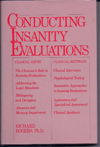 Conducting Insanity Evaluationsの詳細を見る