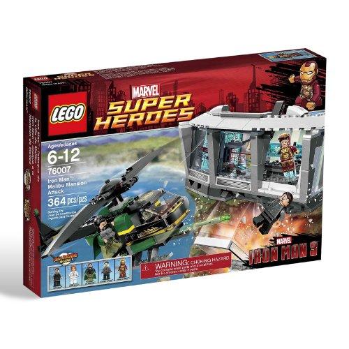 LEGO Super Heroes - Iron Man: Malibu Mansion Attack, Pack de