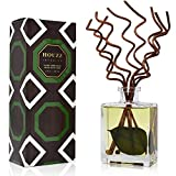 HOUZZ Interior Sandalwood & Eucalyptus Reed Diffuser Set – Earthy Sandalwood and Soothing Eucalyptus – Natural Essential Oils – No Sulfates or Parabens – Made in The USA, 5 Ounces