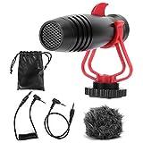 【SON SUPÉRIEUR】 Ce microphone capacitif offre une transmission sonore de haute qualité, une voix claire et sans larsen, sans distorsion. Beau travail, il a un effet de réception parfait. 【APPLICATIONS MULTI-USAGES】 Ce microphone convient aux prises d...
