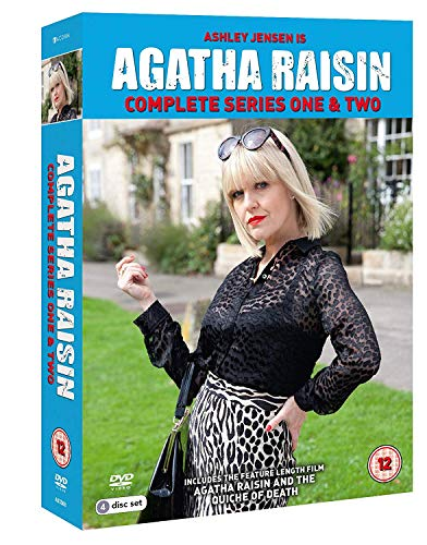 Agatha Raisin - Series 1 & 2 Box Set [DVD] [Reino Unido]