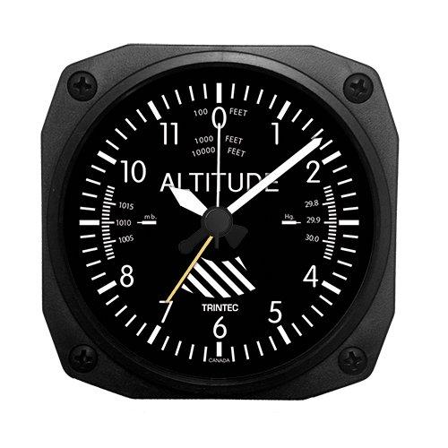 (トリンテック) Trintec 【計器パネル】 ALTIMETER (高度計) 目覚し時計 置時計 DM60
