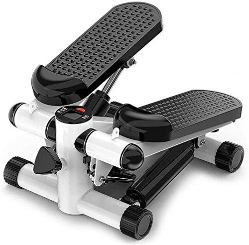 XLAHD Ejercicio Stepper, Twister Stepper con Power Ropes Stepper Stepping Legs con Bandas de Resistencia Piernas Brazo Ejercitador de Muslos Fitness Entrenamiento de Cuerpo Completo