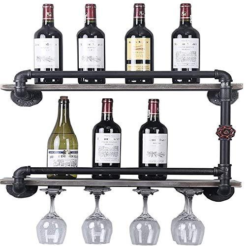 JHGJBJ Weingestell Wandweinglashalter Hanger Suspension Weinglas Goblet Cupholder